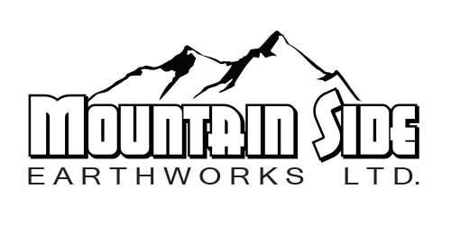 Mountain Side Earthworks Logo